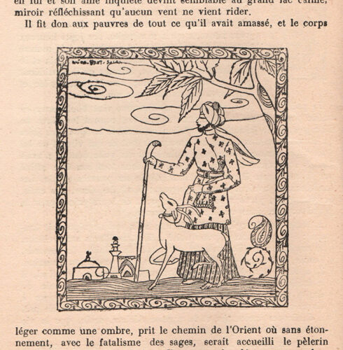 Fig. 11 : Illustration de Saïda Bent Salah, Le Sage, Op. Cit., p. 208.